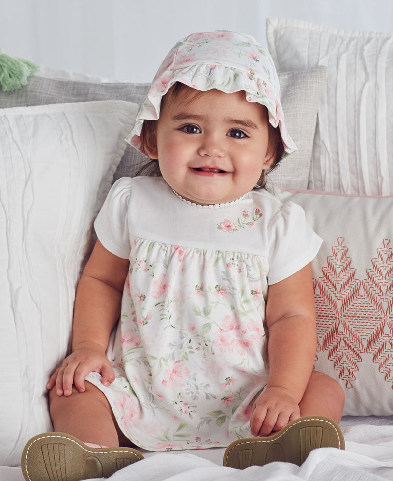 Blossom Garden Popover Dress - Little Me