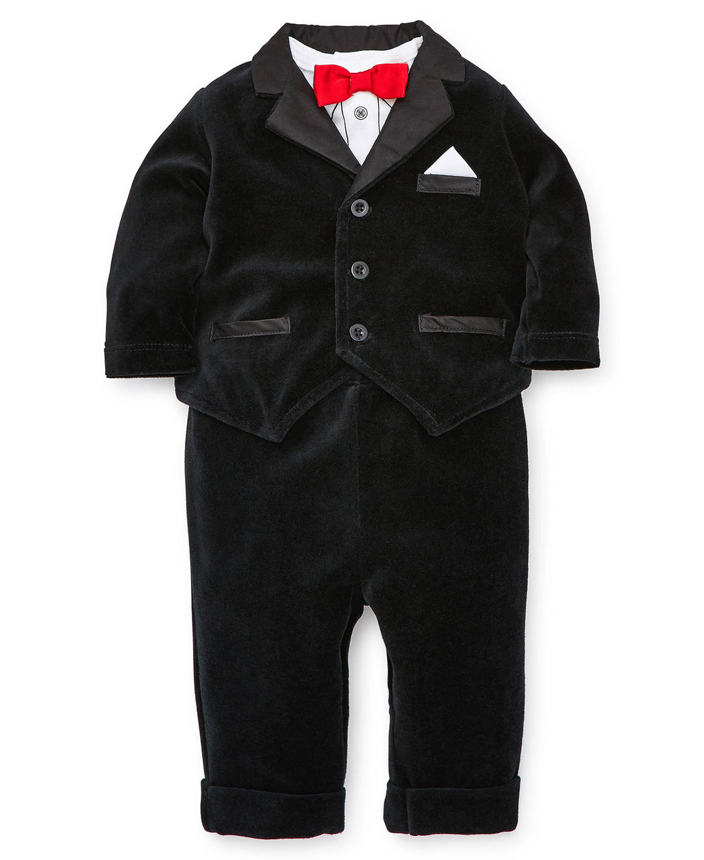 Party Time Tuxedo Jacket Set