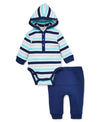 Dino Playtime Striped Pant Set