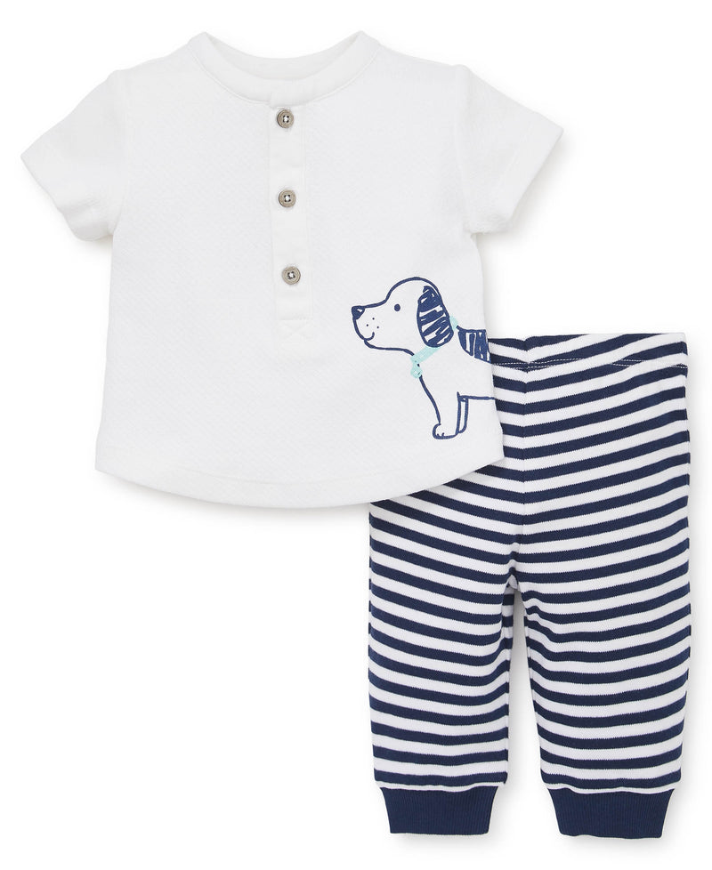 Top Doggy Pant Set - Little Me