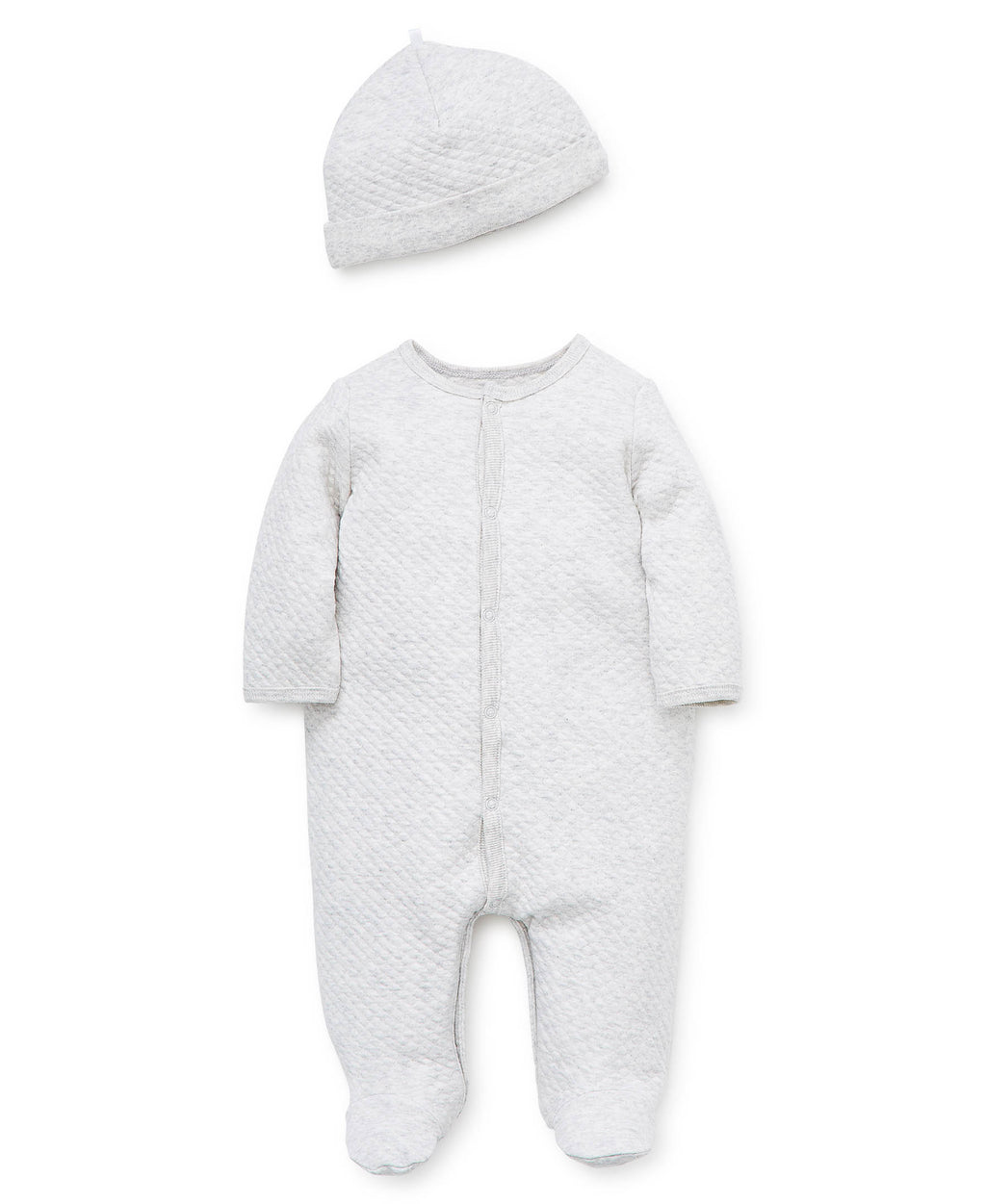 Puppy Pals Footed One-Piece And Hat