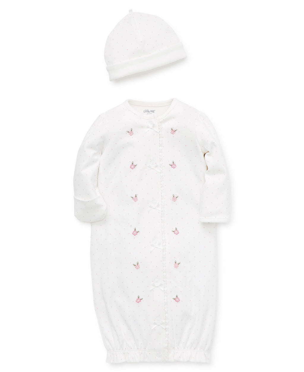 Ivy Rose Sleeper Gown With Hat