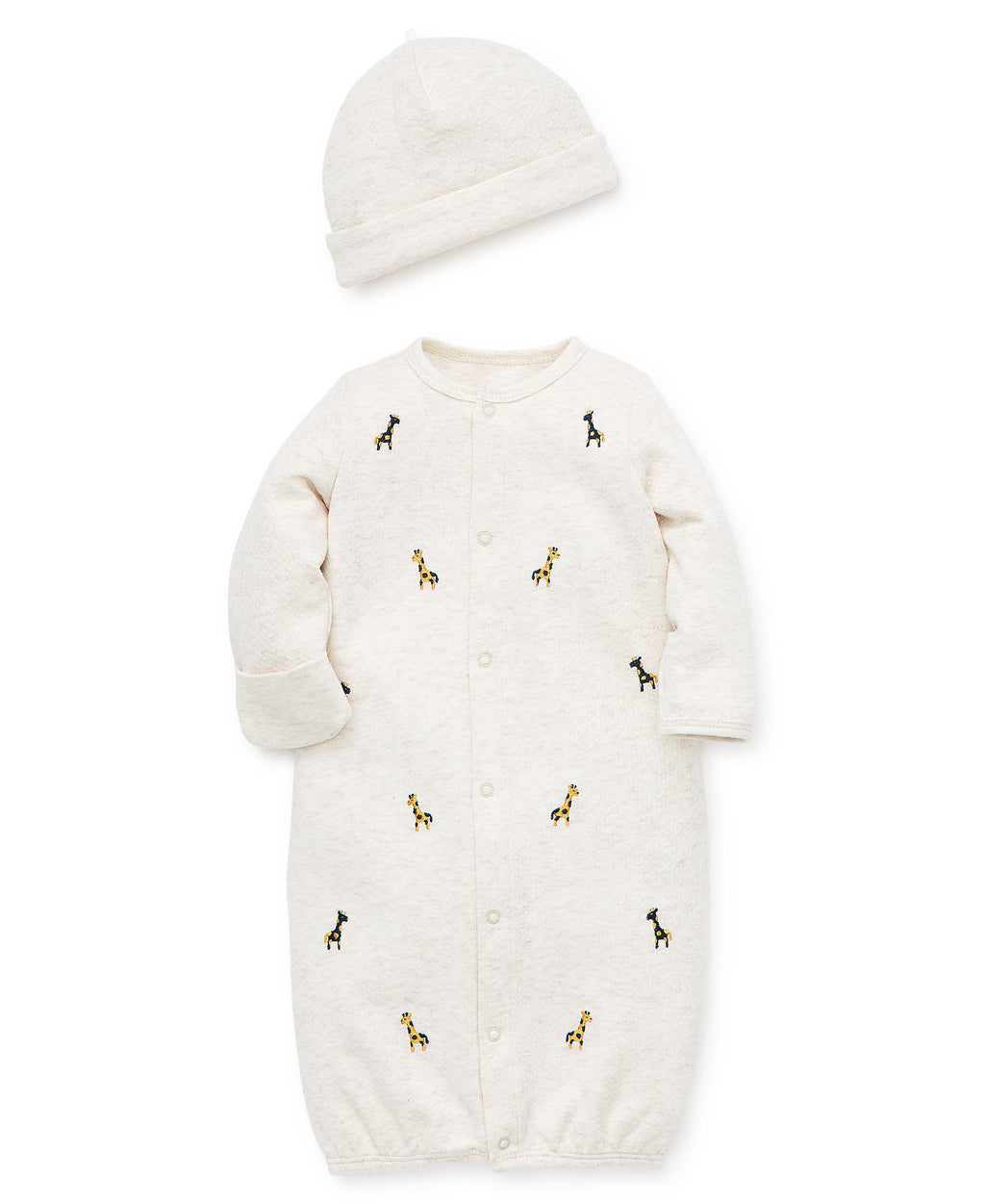 Wild Safari Sleeper Gown And Hat