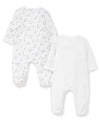 Baby Giraffes Footed One-Piece (2-Pack) - Little Me