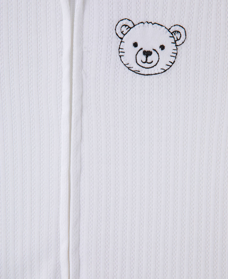 Bears Playtime Footed One-Piece (2-Pack)