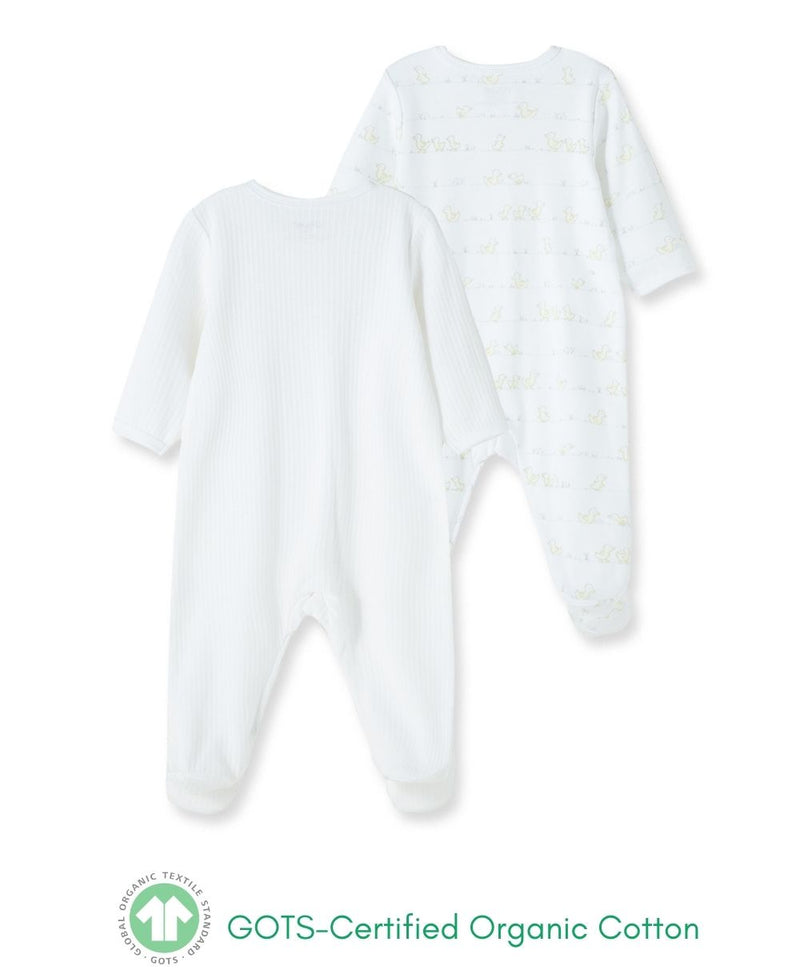 Duck Pond Footed One-Piece (2-Pack)