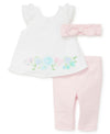 Fresh Flowers Pant Set - Little Me