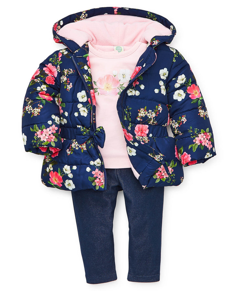 Florals Jacket Set