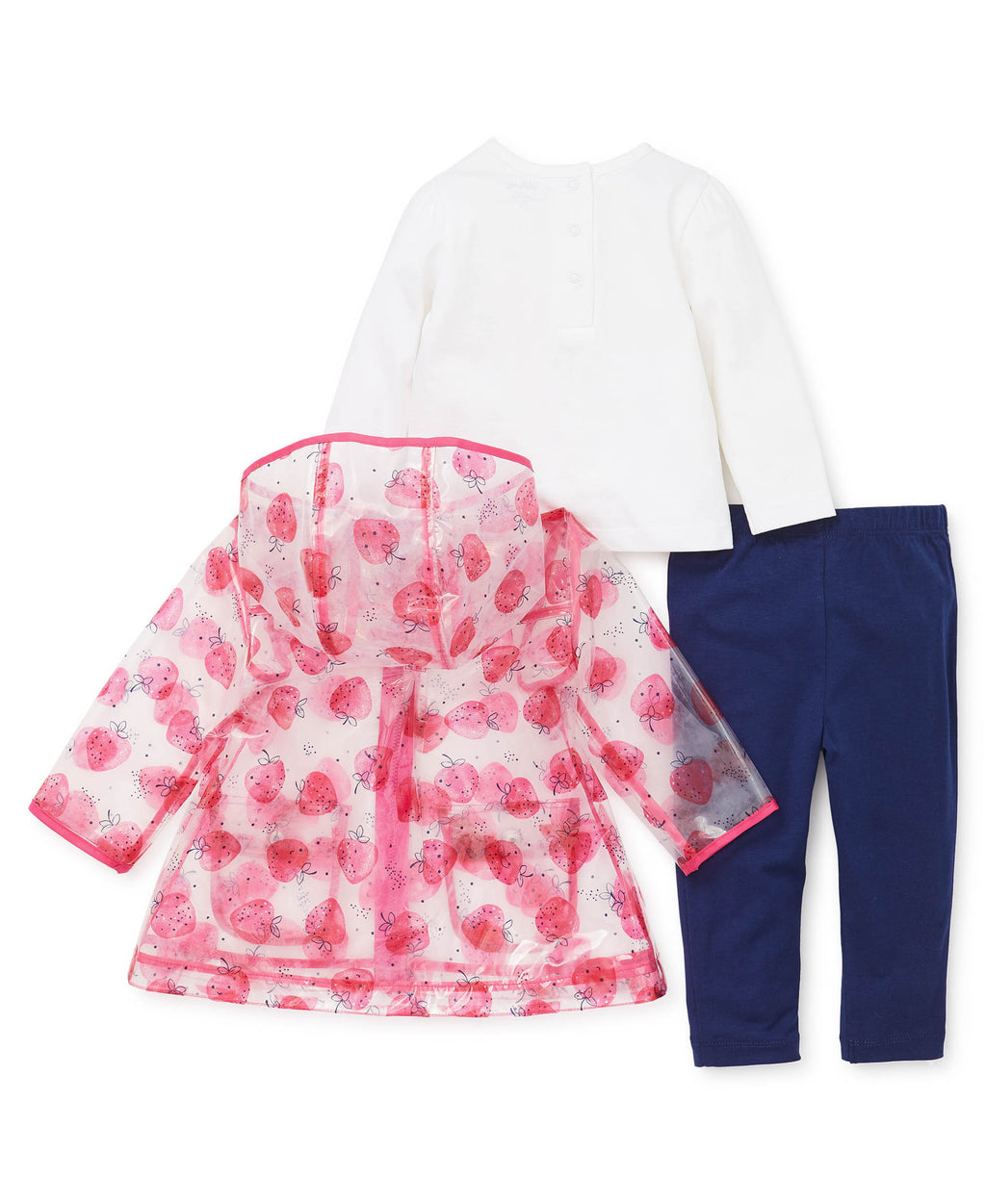 Strawberry Toddler Jacket Set