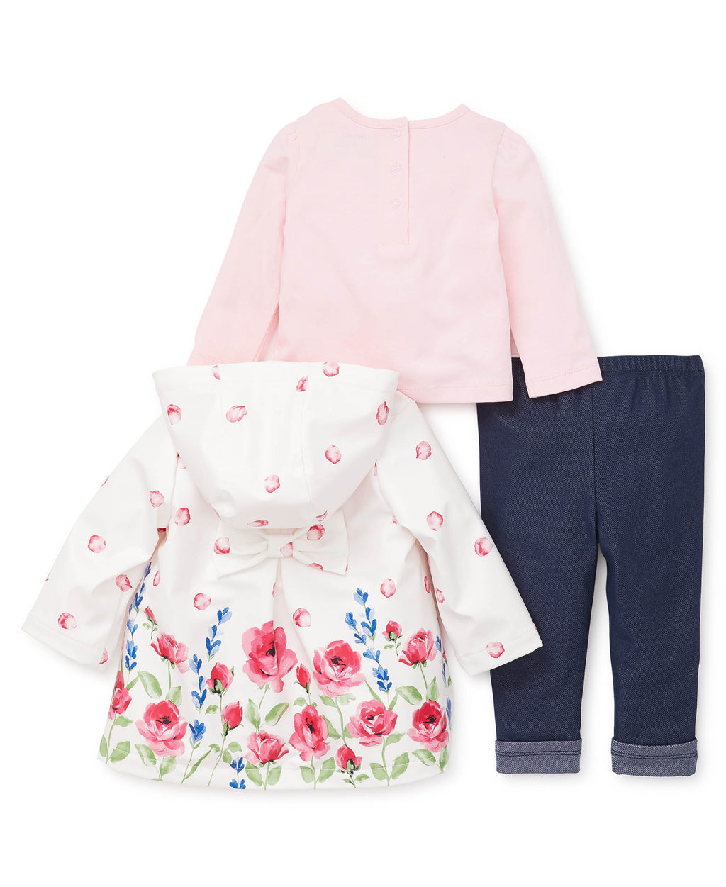 Rose Toddler Jacket Set