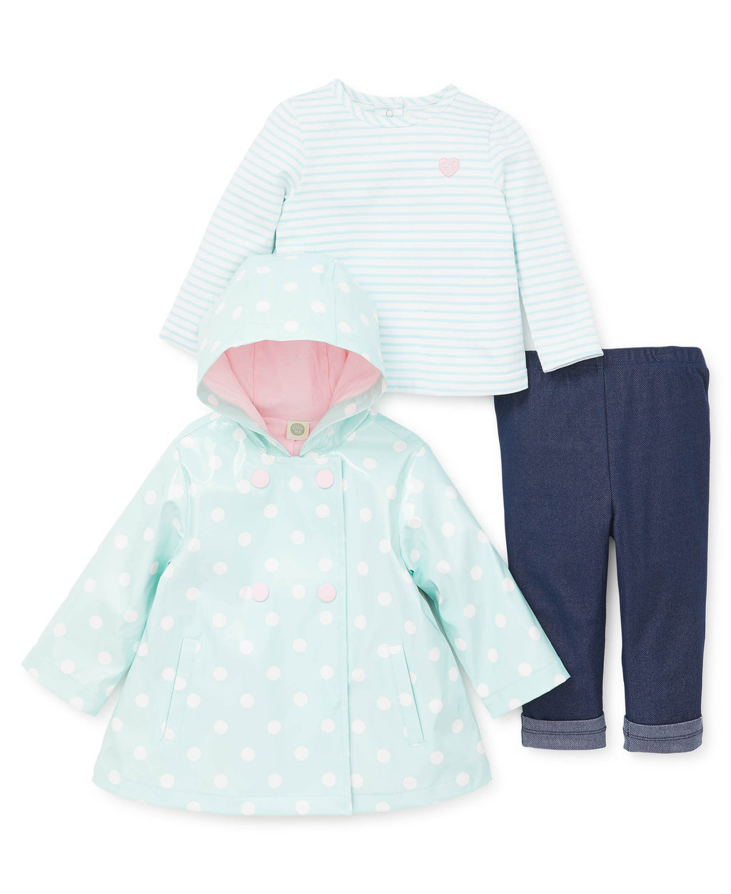 Dot Toddler Jacket Set
