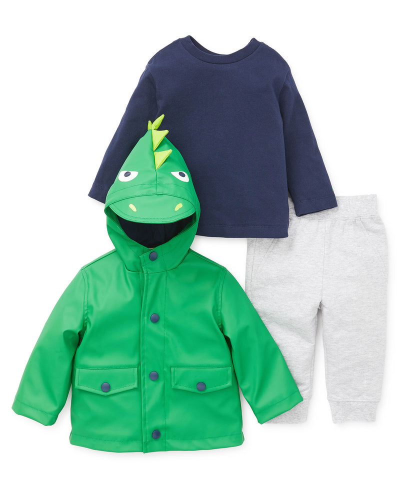 Green Jacket Set - Little Me