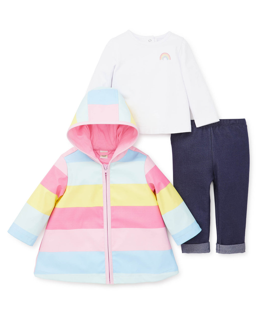 Rainbow Jacket Set