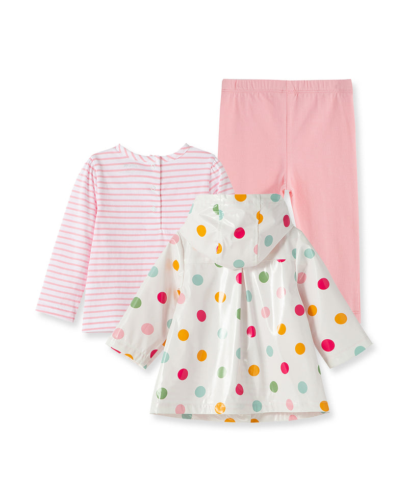 Multi Dot Jacket Set