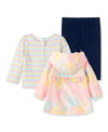 Tie Dye Toddler Jacket Set