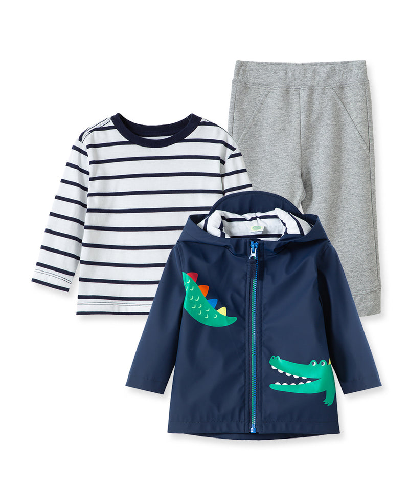 Alligator Toddler Jacket Set