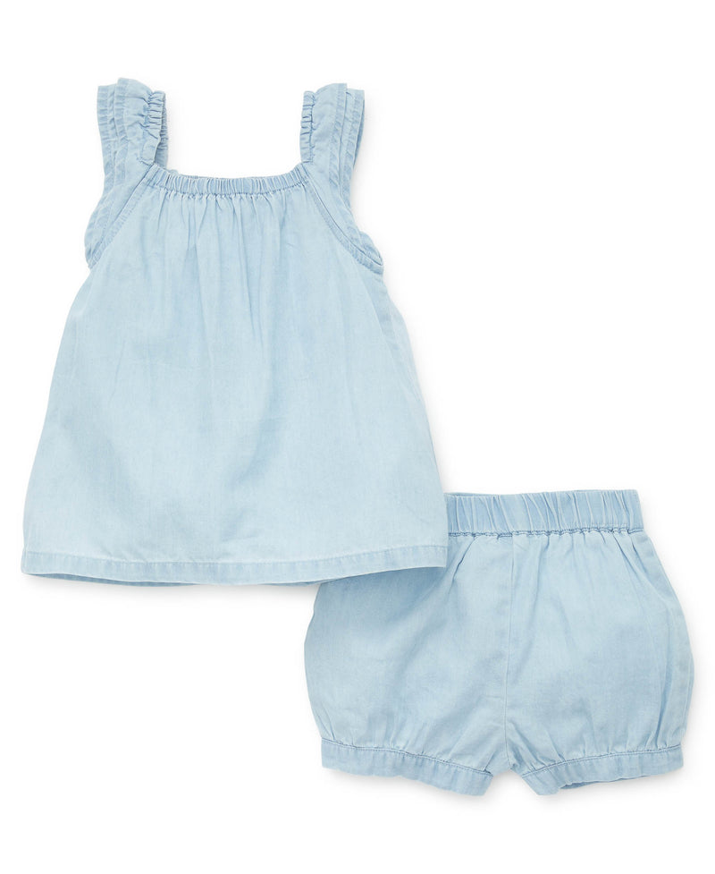 Chambray Short Set - Little Me