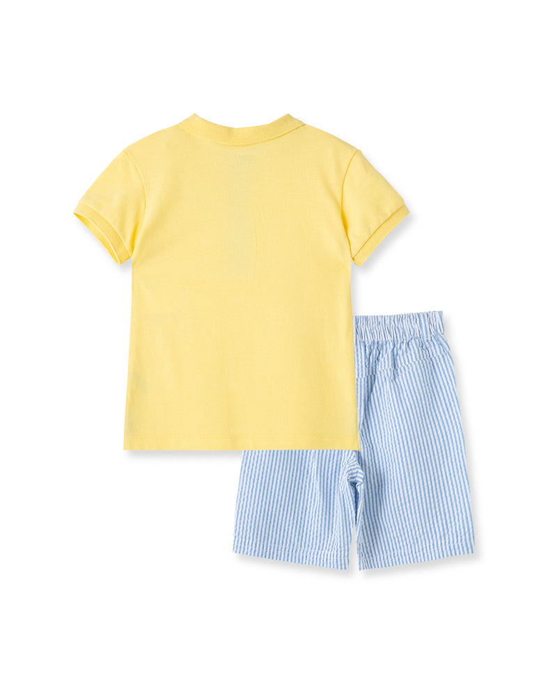 Whale Polo Short Set