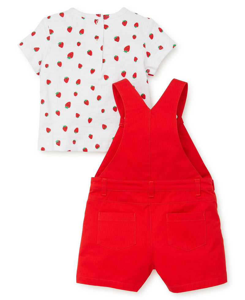 Strawberry Romper Set - Little Me