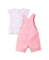 Pink Shortall Set