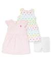 Hearts 2-Pack Toddler Dresses - Little Me