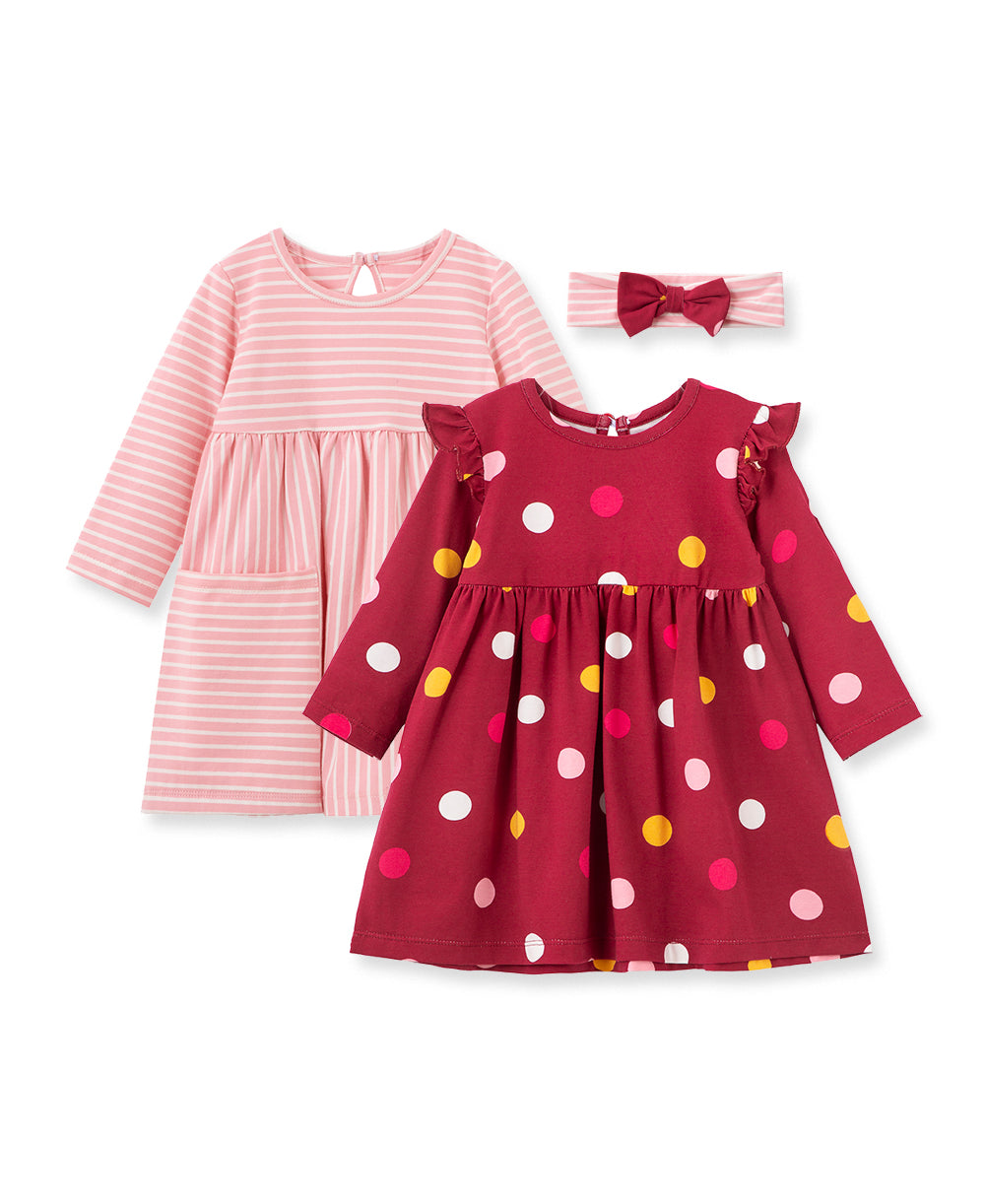 Polka Dot 2-Pack Dress Set