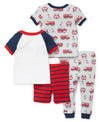 Fire Truck Pajama Set - Little Me