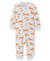 Tiger Zip Front Pajama - Little Me