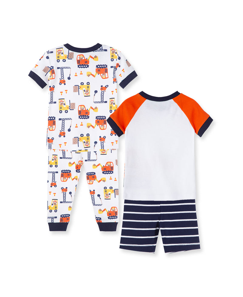 Construction Toddler Pajama Set