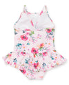 Watercolor Floral Swimsuit - Little Me