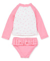 Flamingo Toddler Rashguard Set - Little Me