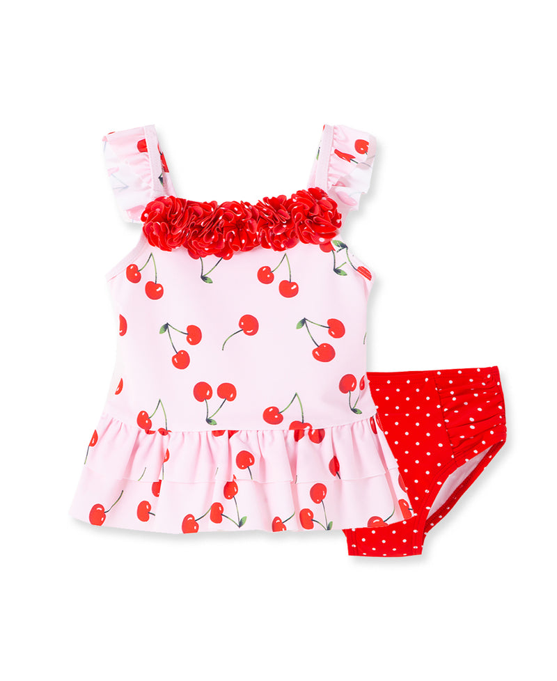 Cherry Toddler Swimsuit