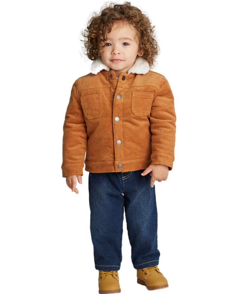 Corduroy Toddler Jacket Set