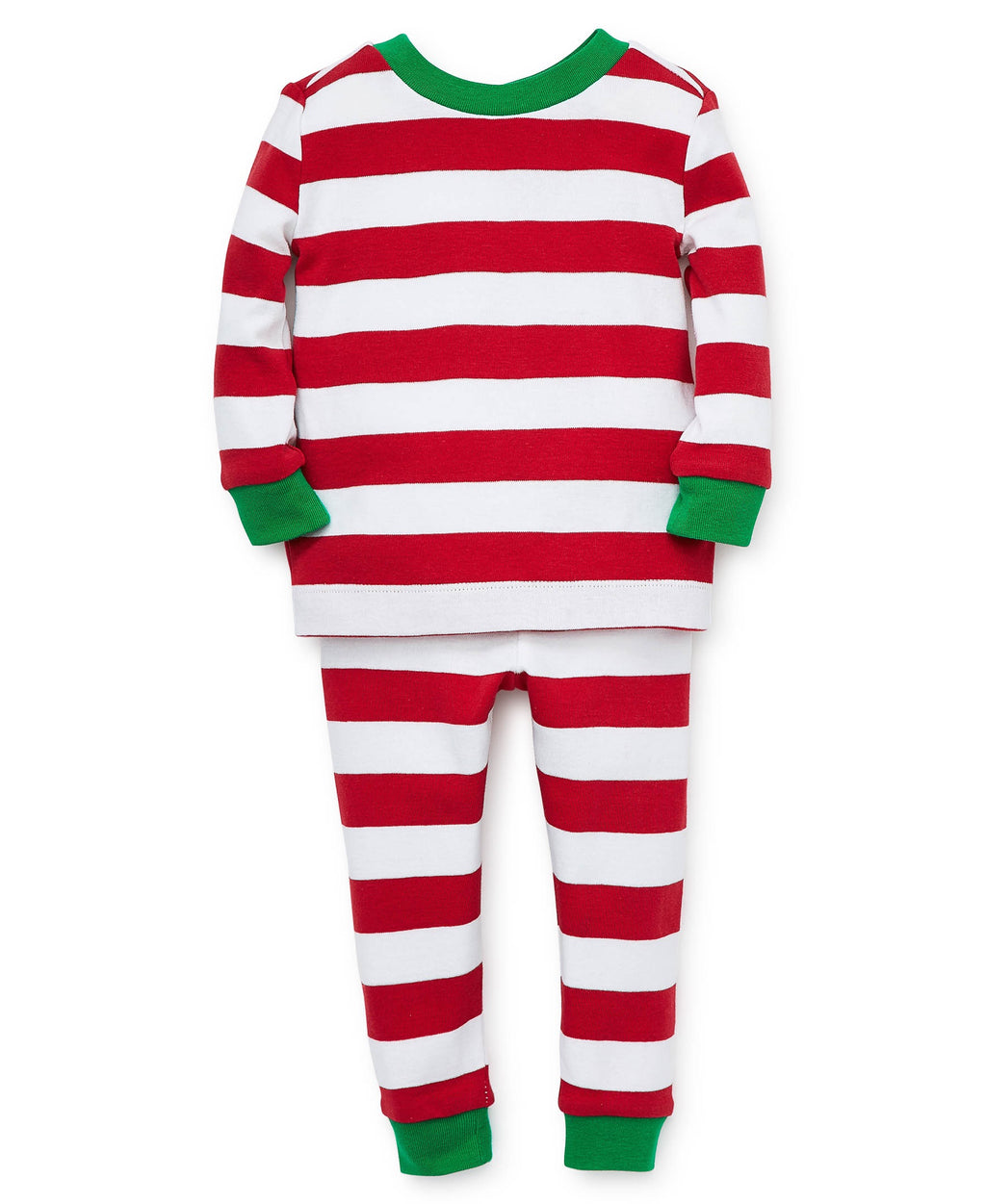 Red Stripe Toddler Pajama Set