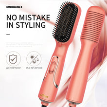 Load image into Gallery viewer, 4 in 1 One Step Hair Dryer and Styler Ceramic Ionic Blow Dryer Hot Air Brush