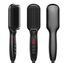Load image into Gallery viewer, Hair Straightener LCD Display Ceramic Electric Hair Styler Styling Tool comb