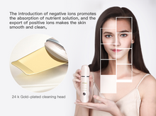 Load image into Gallery viewer, Ultrasonic Ino  Face Scrubber Ion Scraper Pore Cleanser
