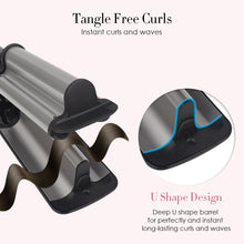 Load image into Gallery viewer, Wholesale Triple Barrel Hair Curler for Big Deep Waver Hot Tools
