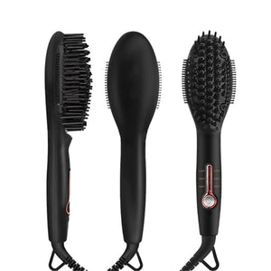 Ionic Beard Straightener Comb Hair Straightening Brush Mini Size for Travel