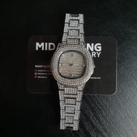 Iced Miami Watch - Gold/White Gold/Two Tone/Rose Gold