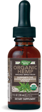 Load image into Gallery viewer, Organic Hemp Oil Unflavored - 1 Oz by Nature's Way