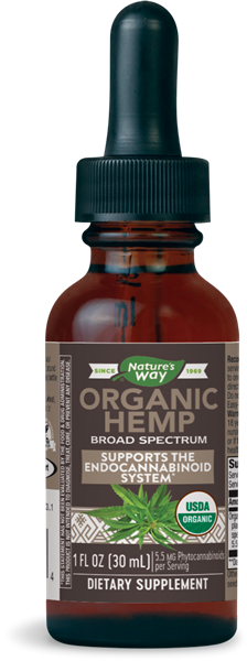 Organic Hemp Oil Unflavored - 1 Oz by Nature's Way