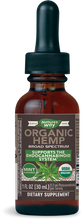 Load image into Gallery viewer, Organic Hemp Oil Mint Flavor - 1 Oz by Nature's Way