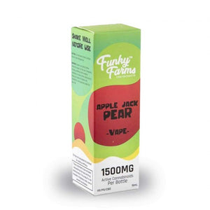 CBD Apple Jack Pear Vape Juice 1500mg - 15 ml by Funky Farms