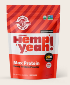 Hemp Yeah! Max Protein Unsweetened - 32 Oz by Manitoba Harvest
