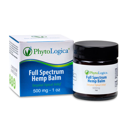 Full Spectrum Hemp Balm 500mg - 1 Oz by Phyto Logica