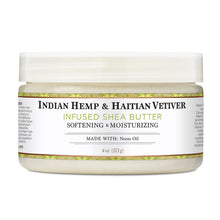 Load image into Gallery viewer, Indian Hemp & Haitian Vetiver Infused Shea Butter - 4 Oz by Nubian Heritage