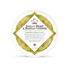 Load image into Gallery viewer, Indian Hemp & Haitian Vetiver Infused Shea Butter - 4 Oz by Nubian Heritage - Top