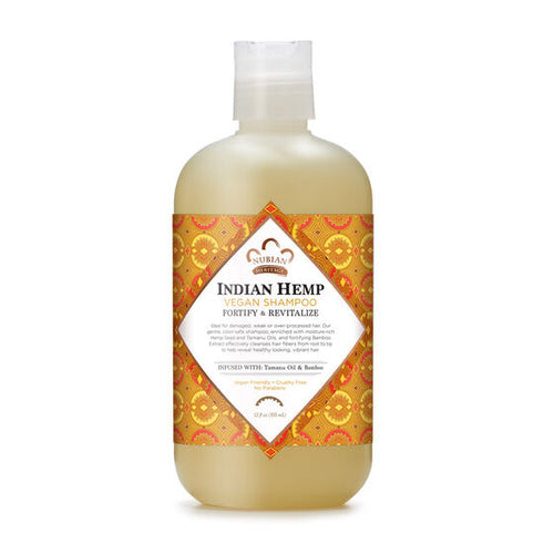 Indian Hemp Vegan Shampoo - 12 Oz by Nubian Heritage