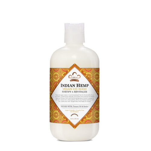 Indian Hemp Vegan Co-Wash - 12 fl Oz by Nubian Heritage
